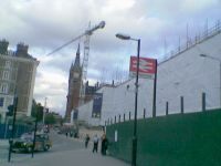 Work being undertaken on St Pancras, 04 Jun 04