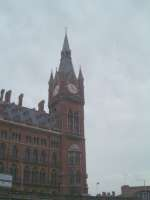 The impressive Midland Hotel at St Pancras
