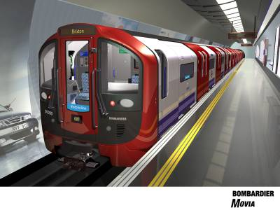 New Victoria line trains